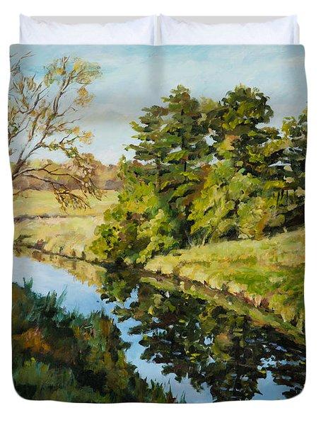 Illinois Countryside  Duvet Cover