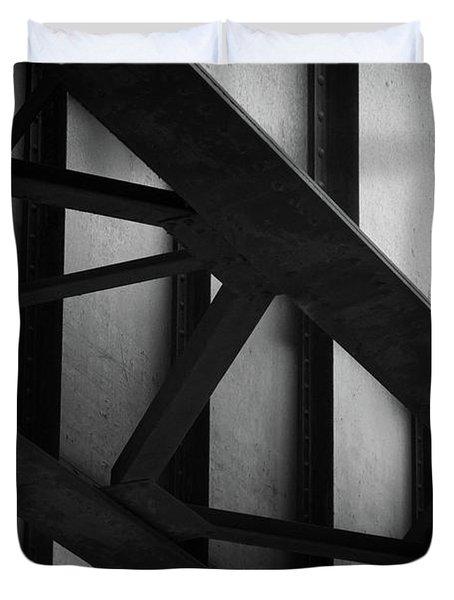 Illinois Terminal Bridge Duvet Cover