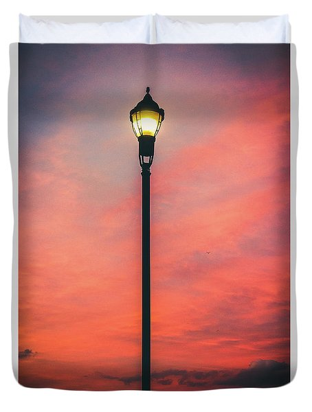 Illuminate The Night Duvet Cover