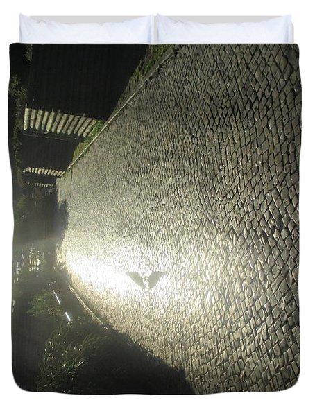 Illuminated Inverted Path Duvet Cover
