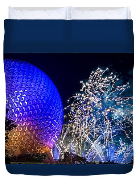 Illuminations Reflections Of Earth Duvet Cover