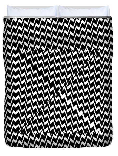 Illusion Exemplified Duvet Cover