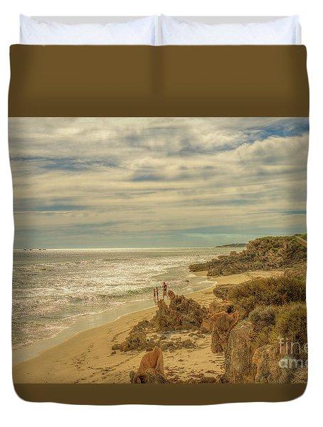 Iluka, Western Australia Duvet Cover