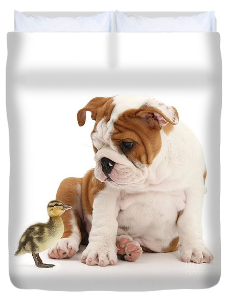 I'm A Quack Of All Trades Duvet Cover