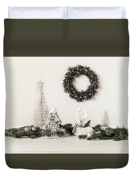 Duvet Cover featuring the photograph I'm Dreaming by Kim Hojnacki