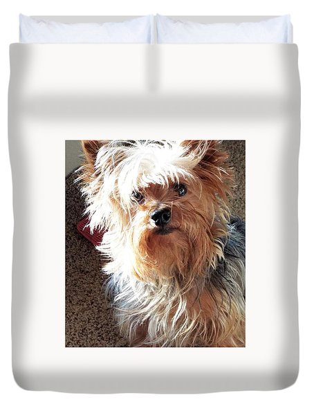 Im Hungry You Hungry? Duvet Cover