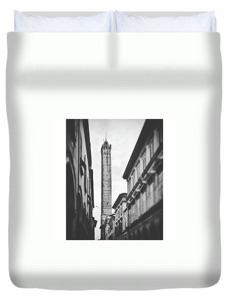 Italy Old Buildings Duvet Cover