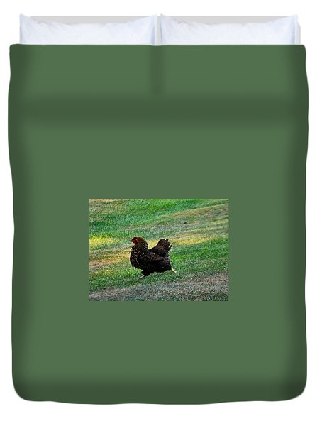 I'm Outta Here  Duvet Cover