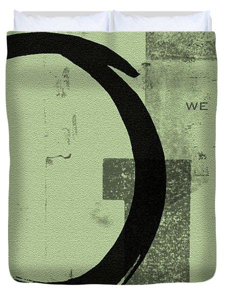 Image Of Peace Duvet Cover by Julie Niemela