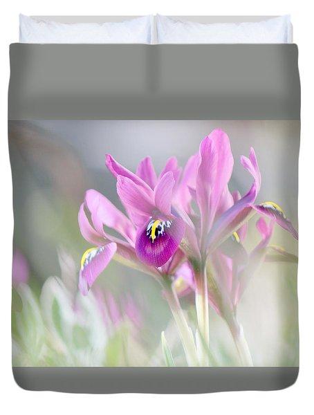 Imaginary Spring Time Duvet Cover by Silke Brubaker