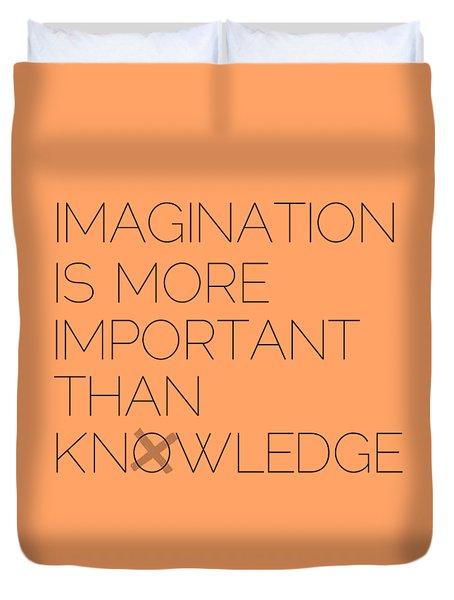 Imagination Duvet Cover by Melanie Viola