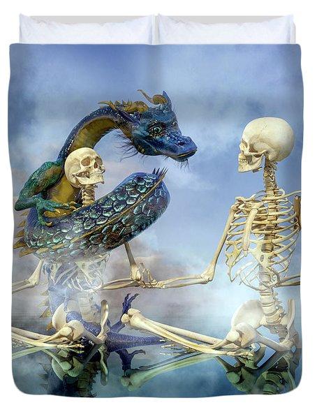 Imaginative Meditation Duvet Cover