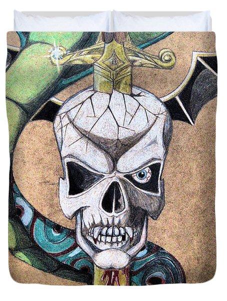 imaginative Simbol Duvet Cover by Alban Dizdari