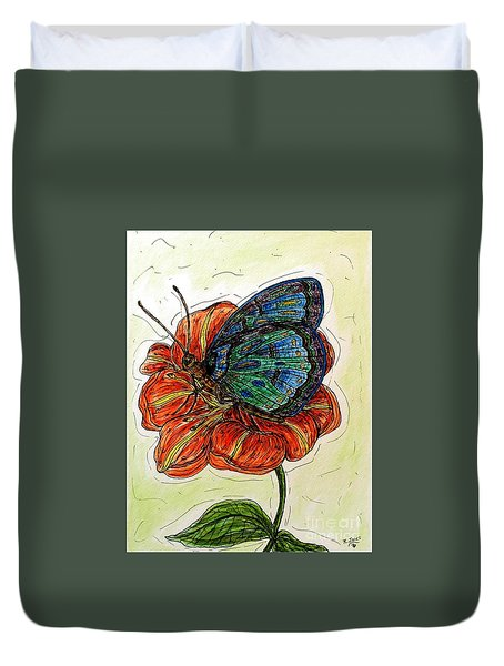 Imagine Butterflies A Duvet Cover
