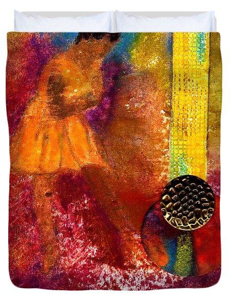 Imagine Winning Duvet Cover by Angela L Walker