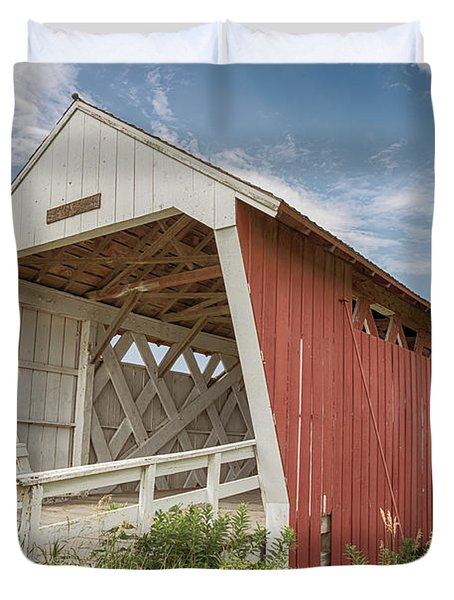 Imes Covered Bridge Duvet Cover