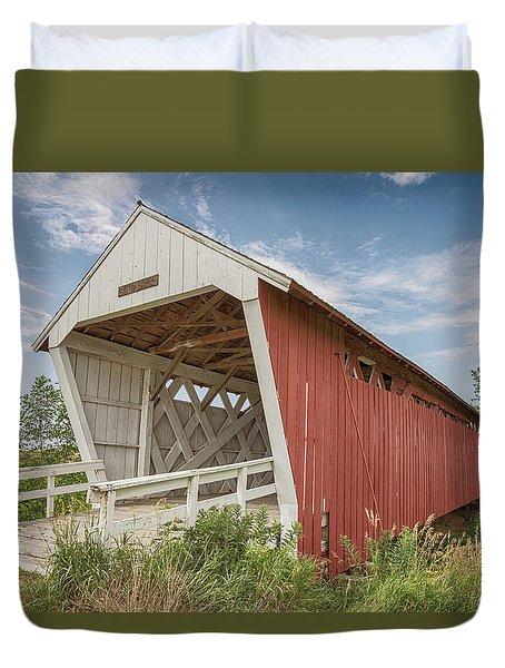 Imes Covered Bridge Duvet Cover