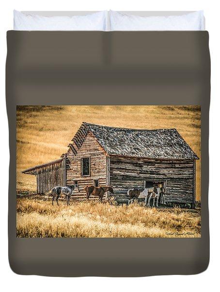 #2204 - Harrison Montana Duvet Cover
