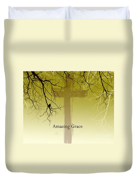 Immanuel- My Saviour Duvet Cover by Trilby Cole