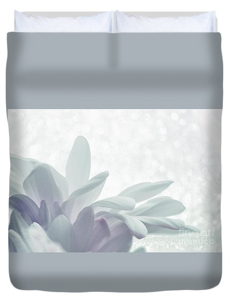 Duvet Cover featuring the digital art Immobility - W01c2t03 by Variance Collections