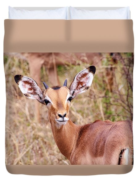 Impala Duvet Cover by Juergen Klust