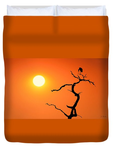 Impalila Island Sunset No. 2 Duvet Cover