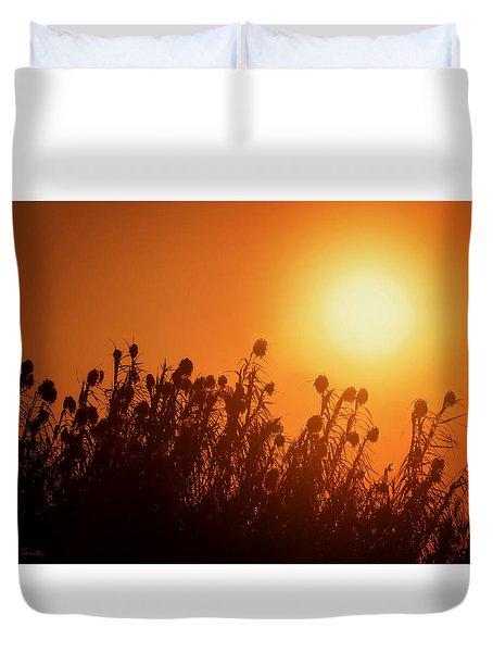 Impalila Island Sunset No. 3 Duvet Cover by Joe Bonita