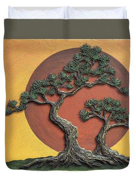Impasto - Bonsai With Sun - One Duvet Cover