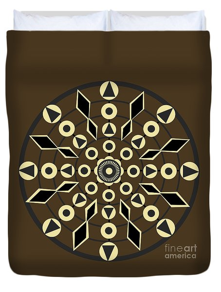 Imperfect - Brown Duvet Cover