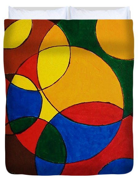 Imperfect Circles Duvet Cover