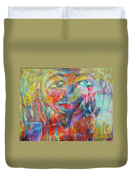 Imperfect Me Too Duvet Cover