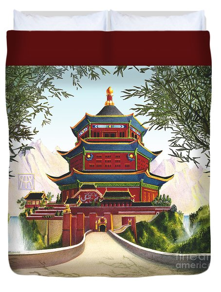 Imperial Palace Duvet Cover by Melissa A Benson