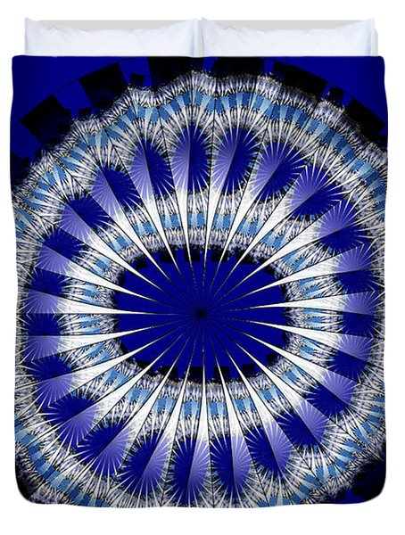 Implosion Duvet Cover by Nancy Marie Ricketts