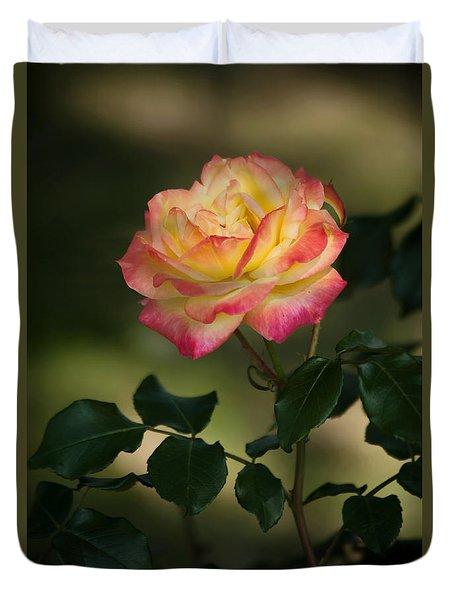 Imposing On Bloom Duvet Cover