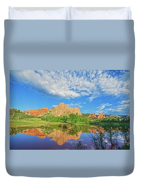 Impossible Not To Fall In Love With Colorado. Here's Why.  Duvet Cover