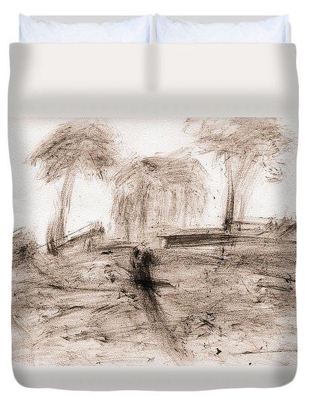 Impression Duvet Cover by Lori Kingston