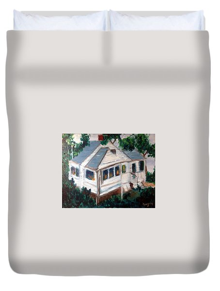 Impressions Of Cape Cod Duvet Cover by Roxy Rich