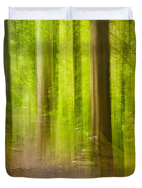 Impressions Of The Forest Duvet Cover