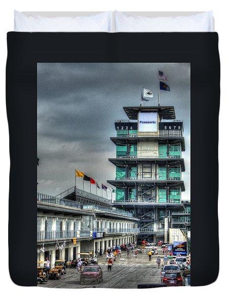 Ims Pagoda Duvet Cover