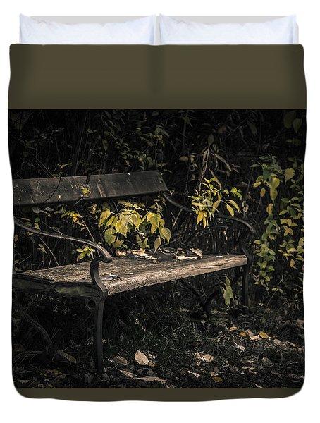 In A Forgotten Corner Duvet Cover