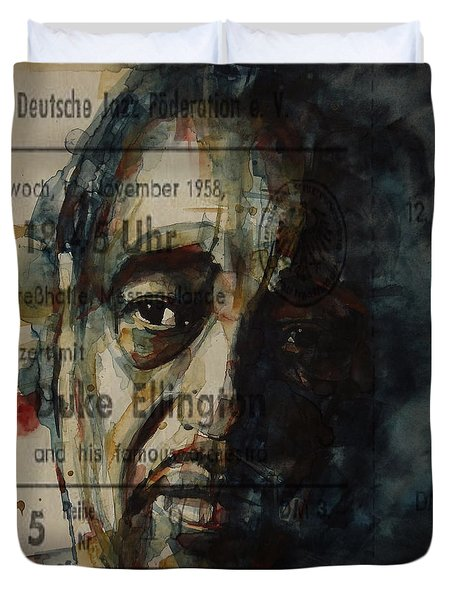 In A Sentimental Mood Duke Ellington Duvet Cover