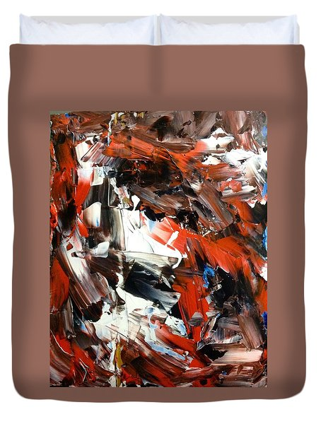 In Abstraction  - Rbw No.2 Duvet Cover