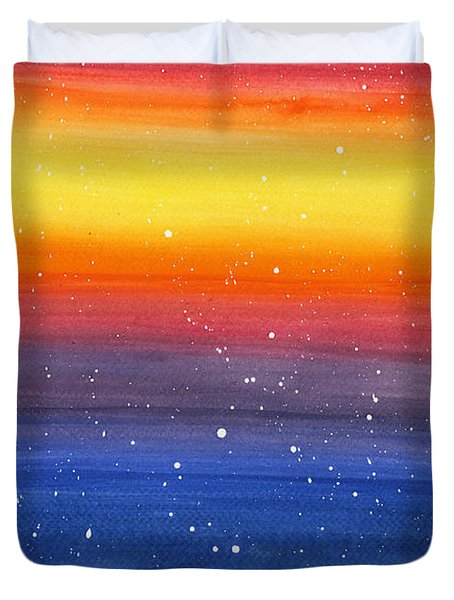 In Awe Duvet Cover