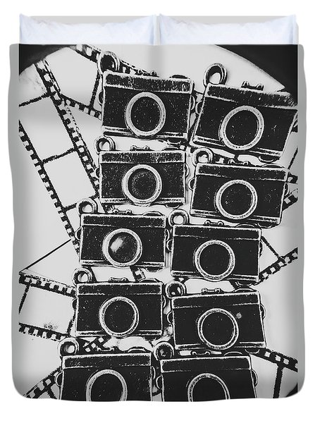 In Camera Art Duvet Cover