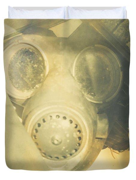 In Case Of War Duvet Cover