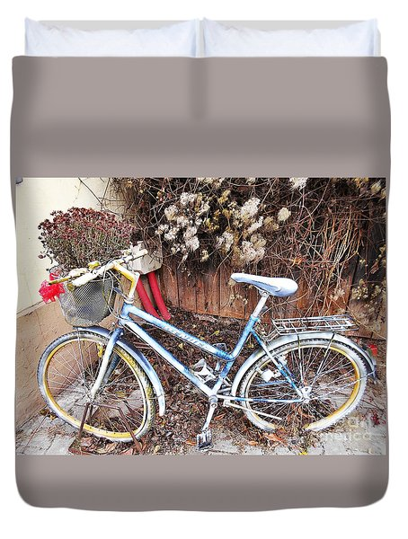 In Case You Need A Ride  Duvet Cover