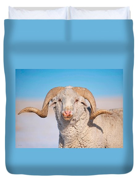 In Charge Duvet Cover
