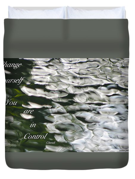 In Control Duvet Cover by David Norman