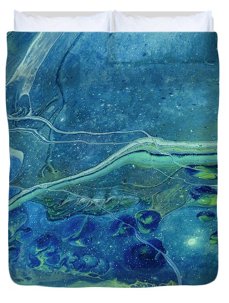 In Depths Unknown Duvet Cover
