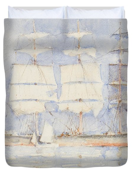 In Falmouth Bay Duvet Cover